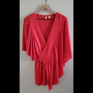 Anthropologie Moth Ruffled Sweater Size M/L